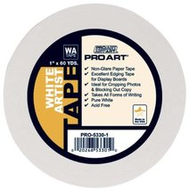 Blenders (Countertop) Pro Art 12Inch by 60Yards White Artist Tape PRO-53... - $17.20