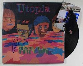"Todd Rundgren of Utopia Signed Autographed ""Trivia"" Record Album w/ Proo... - $49.49"