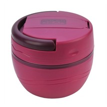 500ml Lunch Pod Bery Insulated Food Pot Camp Travel Carry Handle 2 Secti... - $10.60