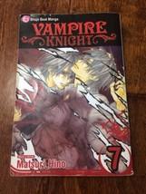 VAMPIRE KNIGHT BOOK  #7 BY MATSURI HINO SHOJO BEAT MANGA ENGLISH VIZ MED... - $9.50