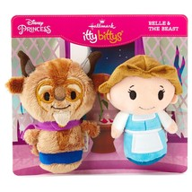 "Hallmark itty bittys ""Belle and The Beast"" - Disney Princess - 25th Anni... - $25.73"