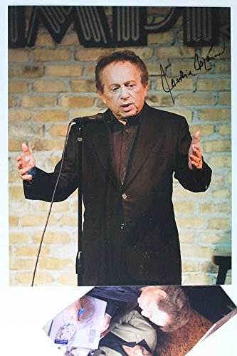Primary image for Jackie Mason Signed Autographed Glossy 8x10 Photo w/ Proof Photo