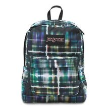 JanSport Superbreak Student Backpack - Black/Multi Short Circuit - $32.00