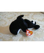 """Rare TY Original Beanie Babies """" Waves """" the Whale-With """" Echo the Dolph... - $989.99"""