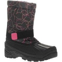 Ozark Trail Classic Toddler Girls Winter Snow Boots Size 5 NWT with Hearts  - £14.87 GBP