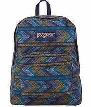 JanSport Superbreak Student Backpack - Navy Moonshine Chevrons - $29.99