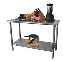 Metal Work Table Stainless Steel Kitchen Indust... - $159.99