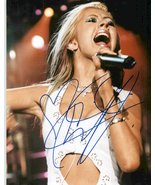 Christina Aguilera Signed Autographed Glossy 8x10 Photo - COA Matching Holograms - $59.39