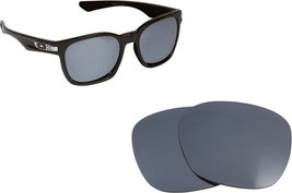 New SEEK Replacement Lenses Oakley GARAGE ROCK - Polarized Black Iridium - $17.35