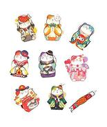 18 Pcs Stickers Japanese Style Lucky Cat Suitcase Stickers Vinyl Decals ... - $16.61