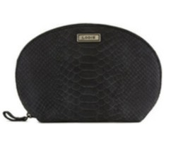 Lodis Saint Germain  Amy Dome Cosmetic Makeup Case. Zip Around. 70% Off. - $20.00