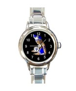 Ladies Round Italian Charm Bracelet Watch Zeta Phi Beta Gift model 30180806 - $11.99