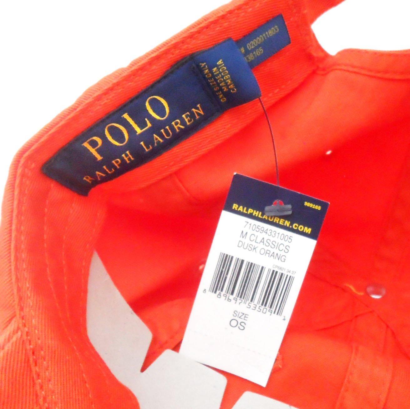 0cc057a5 Polo Ralph Lauren Men/Women Cap Horse Logo/Adjustable (One Size, Dusk