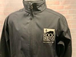 Rock Bridge Brewing Co Columbia Missouri Jacket Men's Size L - $24.74