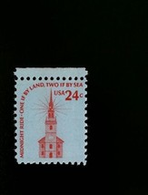 1975 24c Old North Church, Midnight Ride, Two If By Sea Scott 1603 Mint ... - $0.99