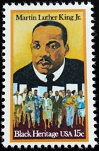 1979 15c Martin Luther King Jr., Minister Scott 1771 Mint F/VF NH - $0.99