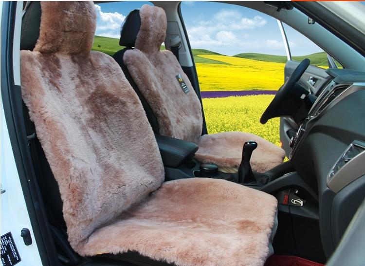Luxury australian sheepskin seat cover sheep skin car for Motor sheep seat covers