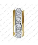 Pure 925 Sterling Silver Single Core Bead Fits Pandora Bracelet, Silver ... - £28.09 GBP