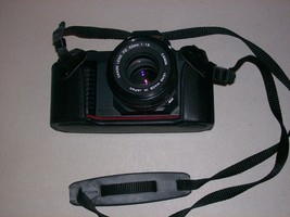 CAMERA: Canon T50 FD With 50mm Lens, Rokinon 200mm Lens, Case & Instruct... - $29.99