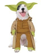 Star Wars Yoda Pet Costume- Large - £7.46 GBP