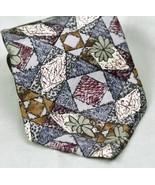 Enro Casuals Necktie Silk Geometeic Design - $8.04
