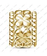 Genuine 925 Silver Flower Bracelet Charm Perfect Fit Pandora Charm Bead ... - £30.48 GBP