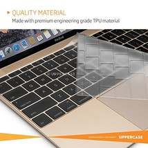 UPPERCASE Premium Keyboard Protector for MacBook 12UPPPKBCMB12 h500 l120... - $19.60
