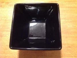 Longaberger Pottery Contemporary Bowl - Ebony Black  Used - $19.80