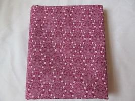 Rich Raspberry & White Flower Floral Quilting Fabric JoAnn Fabrics 1 Yard - $8.90