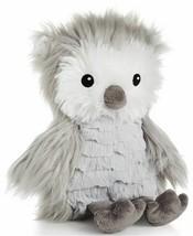 "First Impressions Gray OWL 9"" Plush Macy's Stuffed Animal Bird White Fluffy NEW - $59.39"
