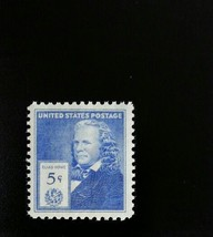 1940 5c Elias Howe, Sewing Machine Pioneer Scott 892 Mint F/VF NH - $1.08