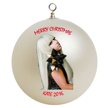 Personalized Lady Gaga Christmas Ornament Gift #3 - $16.95