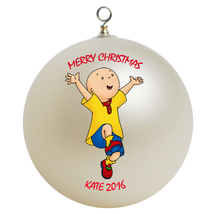 Personalized Caillou Christmas Ornament Gift - $16.95