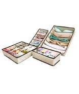 Collapsible Storage Drawers Drawer Dividers Bed... - $27.95