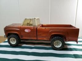 Vintage Collectible Pressed Steel Tonka Toy Pick Up Truck Orange XR-101 ... - $117.79