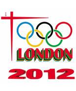 Olympic Games London 2012 Men's Women's Unique Custom White T-Shirt - $19.95
