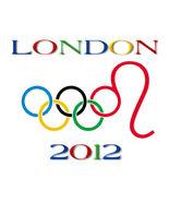 London 2012 Olympic Games Rings Men's Women's Unique Custom White T-Shirt - $19.95