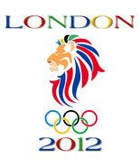 London 2012 Olympic Games Lion Profiel Men's Women's Custom White  T-Shirt - $19.95