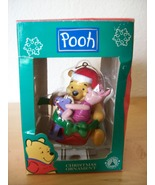 Disney Winnie the Pooh and Piglet Christmas Ornament - $25.00