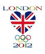 London 2012 Olympic Games Flag Men's Women's Unique Custom Printed White... - $19.95