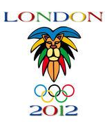 London 2012 Olympic Games Cool Lion Men's Women's Unique Custom White  T... - $19.95