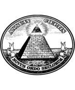 Illuminati Dollar Bill All Seeing Eye Men's Women's Unique Custom White ... - $19.95