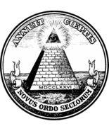 Illuminati All Seeing Eye Men's Women's Unique Custom Printed White T-Shirt - $19.95