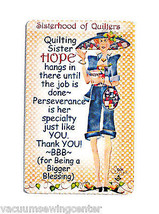 Sisterhood of Quilters Charity Magnet - $8.50