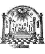All-Seeing Eye Masonic Men's Women's Unique Custom Printed White T-Shirt - $19.95