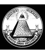 Illuminati All Seeing Eye Men's Women's Unique Custom Printed T-Shirt - $19.95