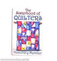 Jody Houghton Magnets 2.25x 3.5 Honorary Member - $8.50