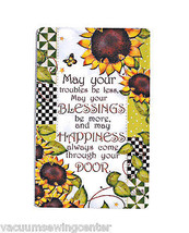 Blessings and Happiness Magnet - $8.50
