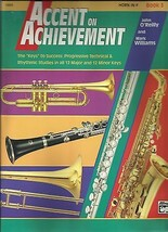 Accent on Achievement for Horn in F Book 3-Riley Willams Alfred * - $6.92