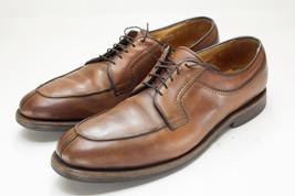 Allen Edmonds Stockbridge 13 Narrow Brown Oxford Derby Dress Shoes Mens - $79.00